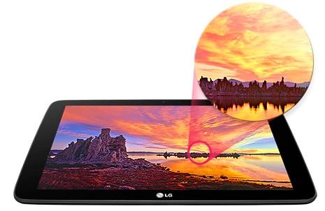 LG G Pad v700 IPS*-дисплей 10,1''