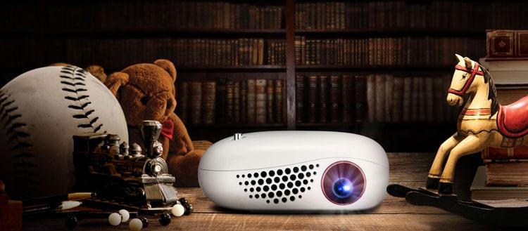 Новый микро LED проектор