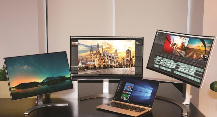 Новые мониторы и компьютеры