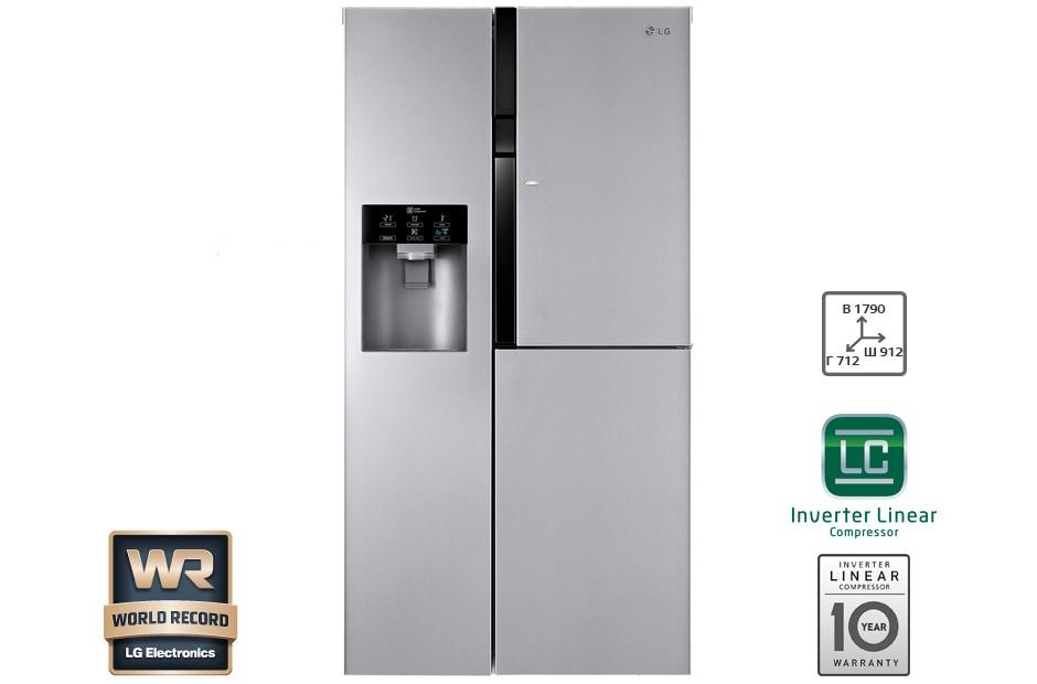 двухкамерный холодильник lg ga b 409 uqda