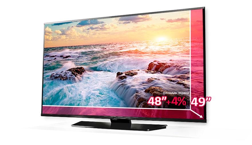Умный выбор с LG - получай +4% к площади экрана