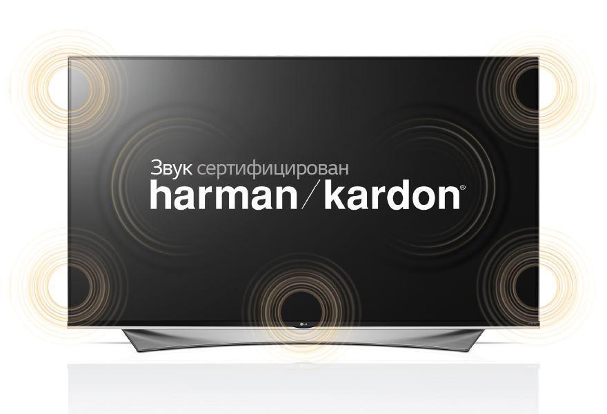ЗВУКОВАЯ СИСТЕМА, СЕРТИФИЦИРОВАННАЯ harman/kardon