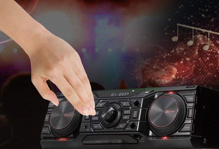 da731df444f9 Музыкальный центр LG CM9750 + NS9750 спикер мини-аудио системы в ...