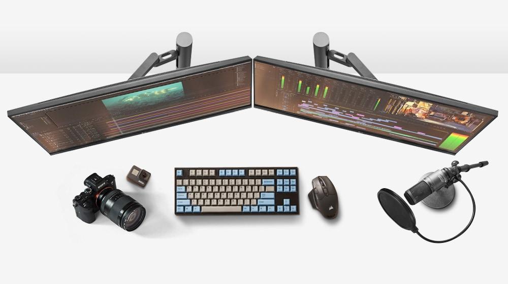Монитор UltraWide™ Ergo для разработчиков