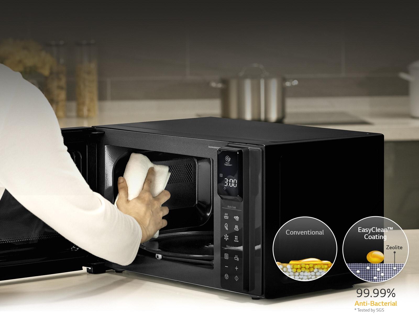 طلاء مضاد للبكتيريا EasyClean™ بنسبة 99.99%1
