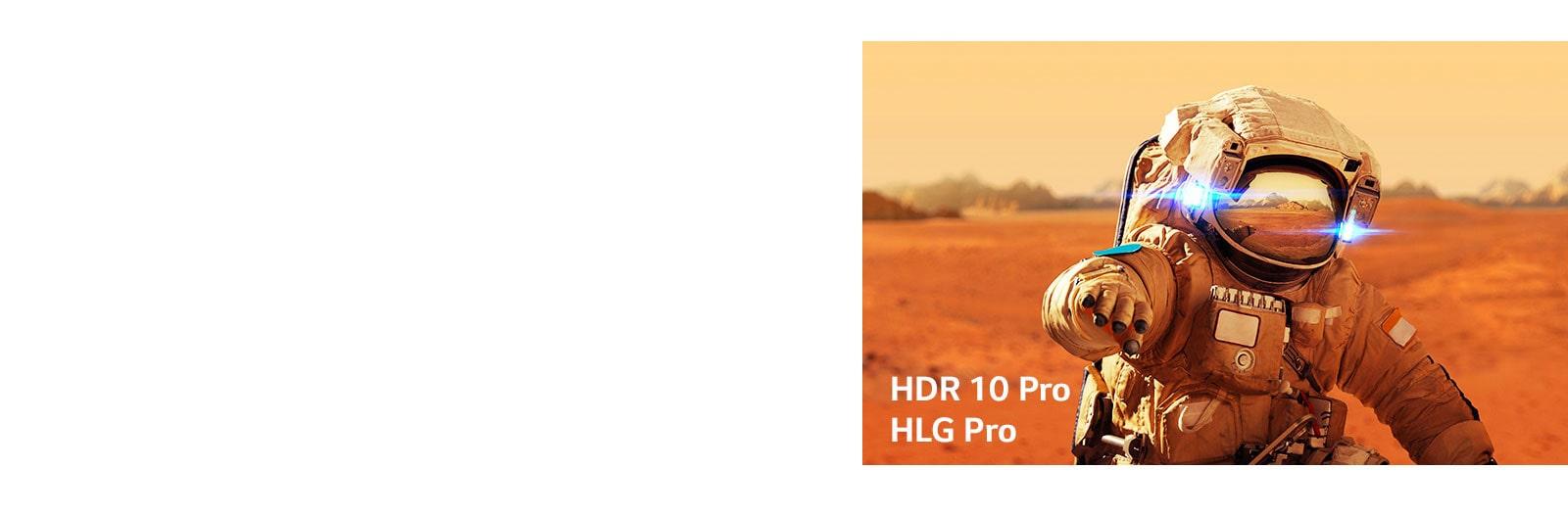 مارفل، آيرون مان، بطاقات العناوين مع شعارات HLG pro و HDR 10 Pro