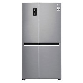22.1 Cu.Ft, Side By Side Refrigerator, Plantinum Silver Color, Smart Diagnosis, Inverter Linear Compressor1