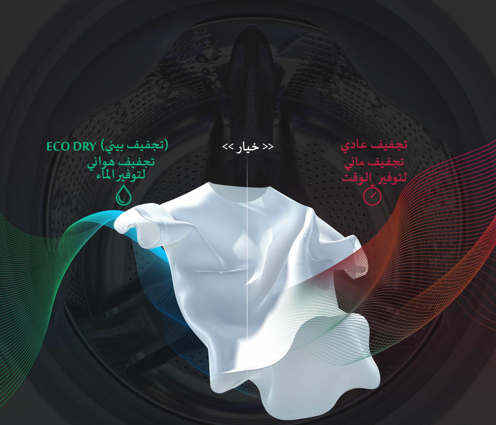وفر الماء والوقت مع EcoHybrid