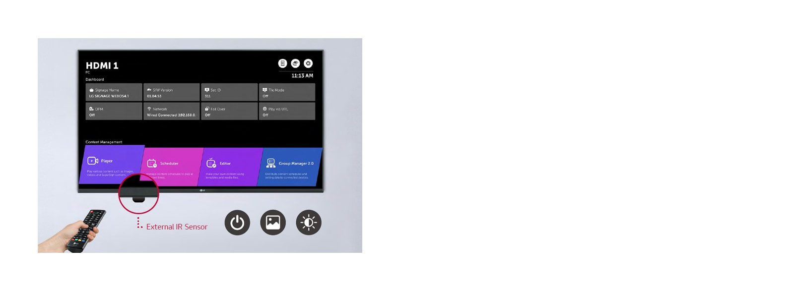 Easy Remote Control Support