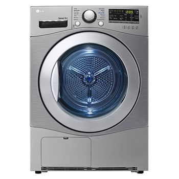 7Kg Condensing Type Dryer, Sensor Dry, Stone Silver Color, Smart Diagnosis1