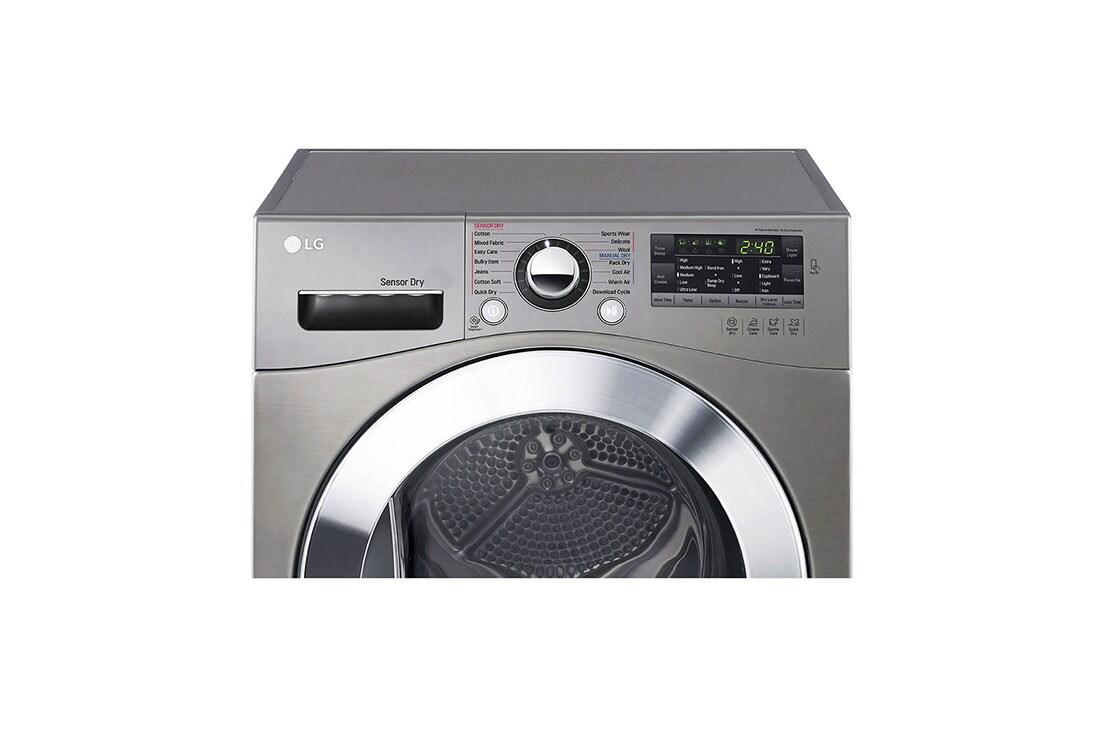 LG 7Kg Condensing Type Dryer, Sensor Dry, Stone Silver Color