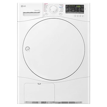 7Kg Condensing Type Dryer, Sensor Dry, White Color, Smart Diagnosis1