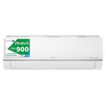 DUALCOOL Inverter AC, 18000 BTU Heat and Cool, Split Air Conditioner with 4 way swing, 50/60Hz1