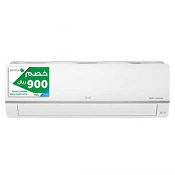 DUALCOOL Inverter AC, 24000 BTU Cool Only, Split Air Conditioner with 4 way swing, 50/60Hz1