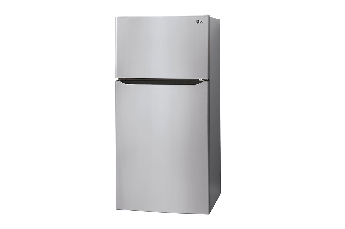 LG 23.2 Cu.Ft, Top Freezer Refrigerator, Platinum Silver Color