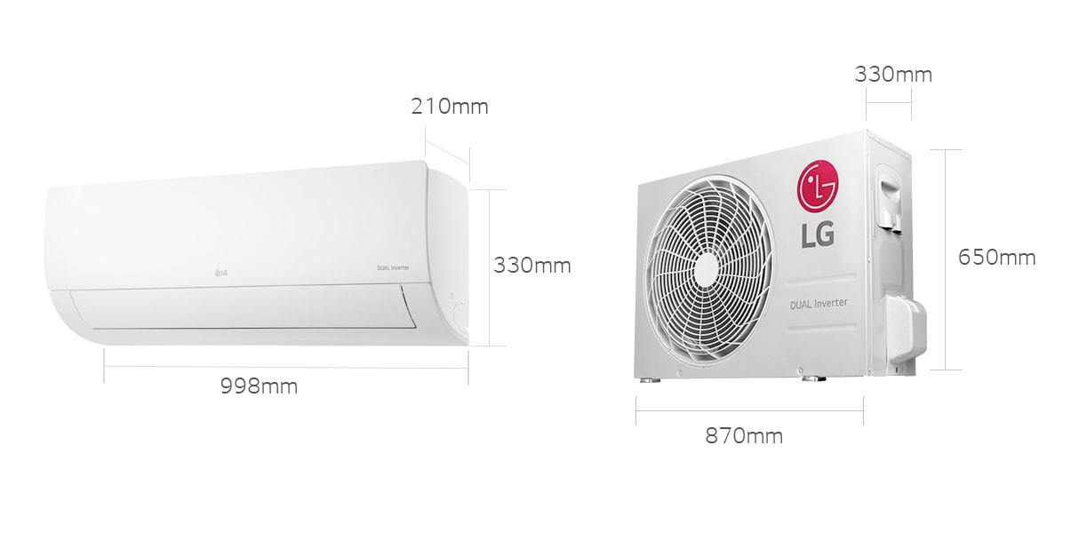 Dual Inverter Smart 18000 Btu Max 23000 Btu Cool Only