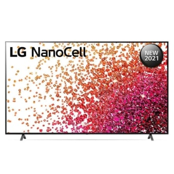 A front view of the LG NanoCell TV1