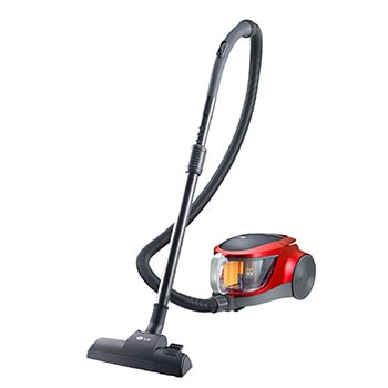 1.5 Liter Dust Capacity Bagless Vacuum, Red Color, 2000W, Low Noise Level, HEPA Filter1