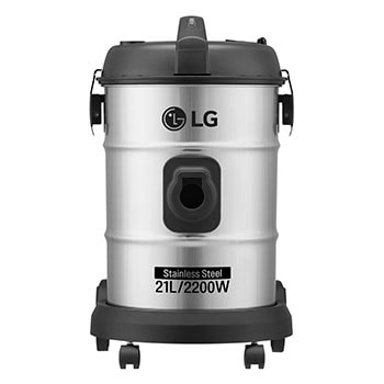 21 Liter Dust capacity POT Type Vacuum, STS Color, 2200W, Dust Indicator, 9m Cord Length1
