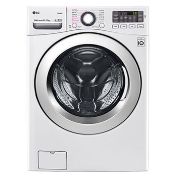 16kg washer with 10kg Dryer Front load washing machine, White Color, Hybrid WD, WIFI 1