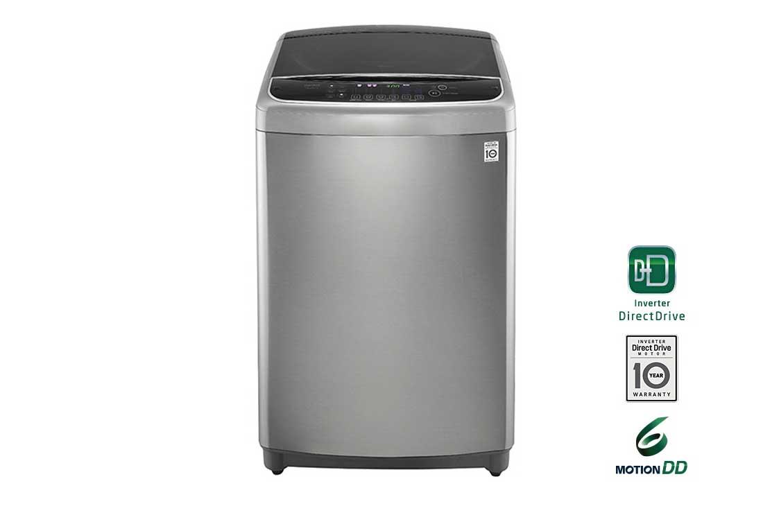 Lg 17kg Top Load Washing Machine Silver Color Steam Turbo Shot