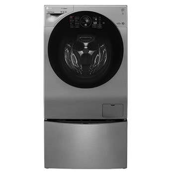 12kg Main Wash with 8kg Dryer +2Kg Mini Wash (TWINWash Washing Machine) Silver Color, ThinQ, TrueSteam, Turbo Dry1