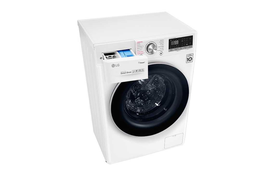 LG 10.5 kg Washer with 7 kg Dryer , Front Load washing Machine