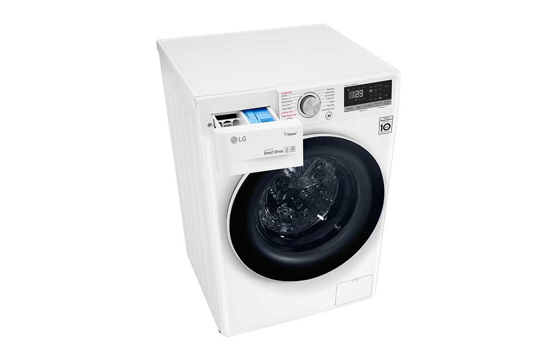 LG 9 kg Front Load washing Machine with AI DD™ ,White color : buy
