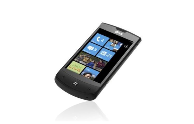 LG Mobiltelefoner Windows Phone 7, 5MP-kamera, DLNA thumbnail +1