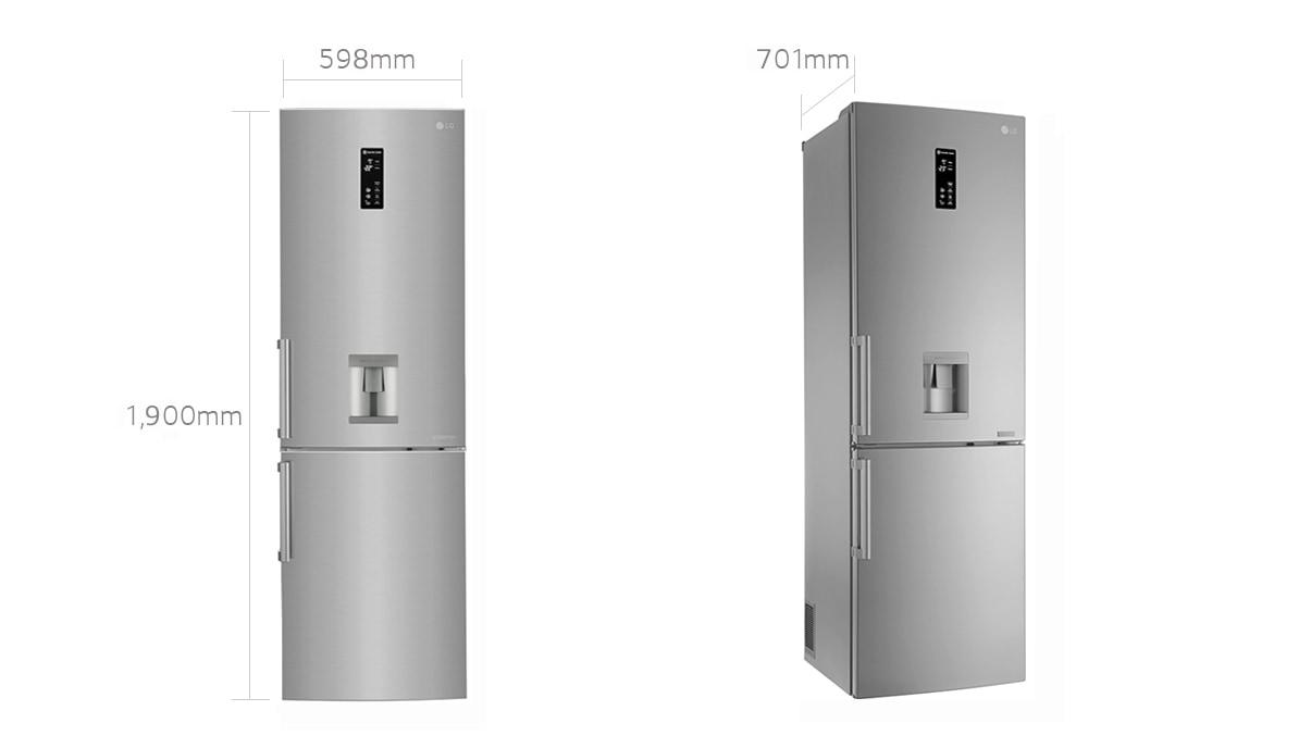 Inredning kyl och frys side by side : 4GFE.jpg