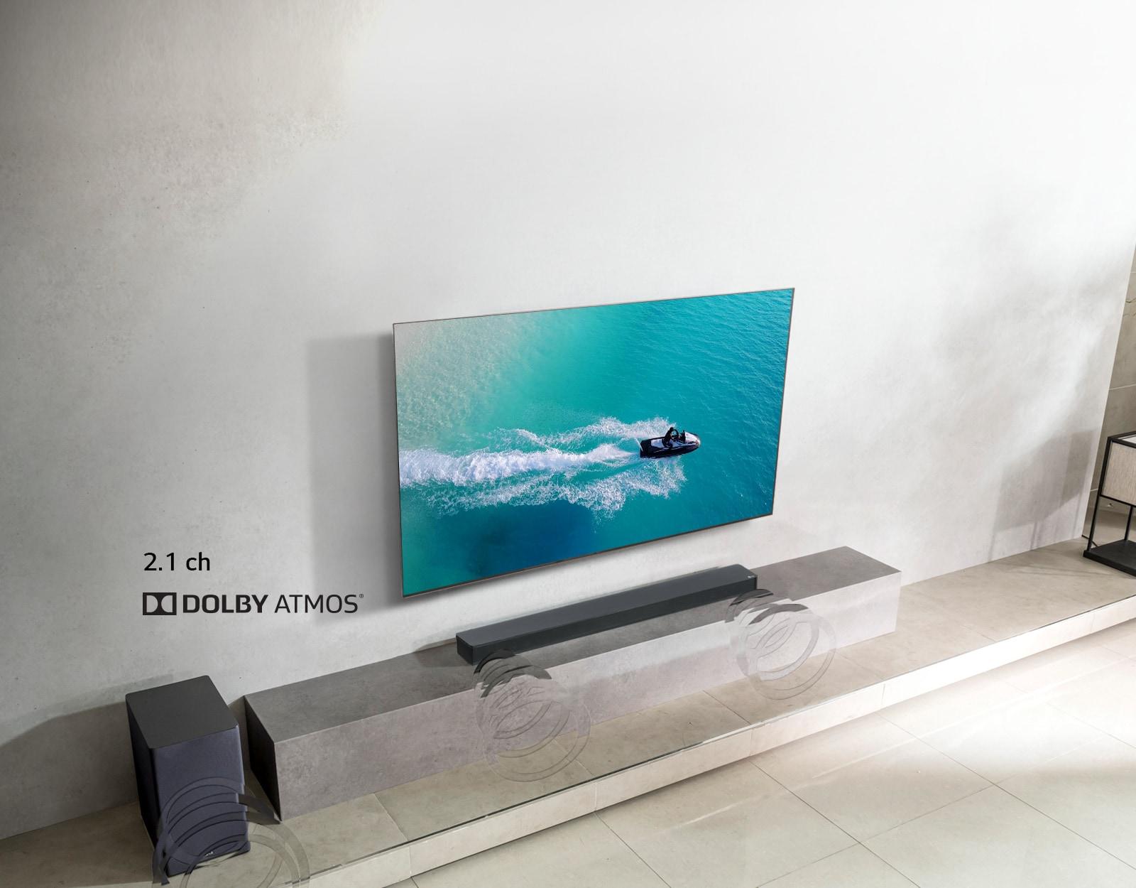 LG SK8Y Dolby Atmos Sound Bar | LG Electronics SG