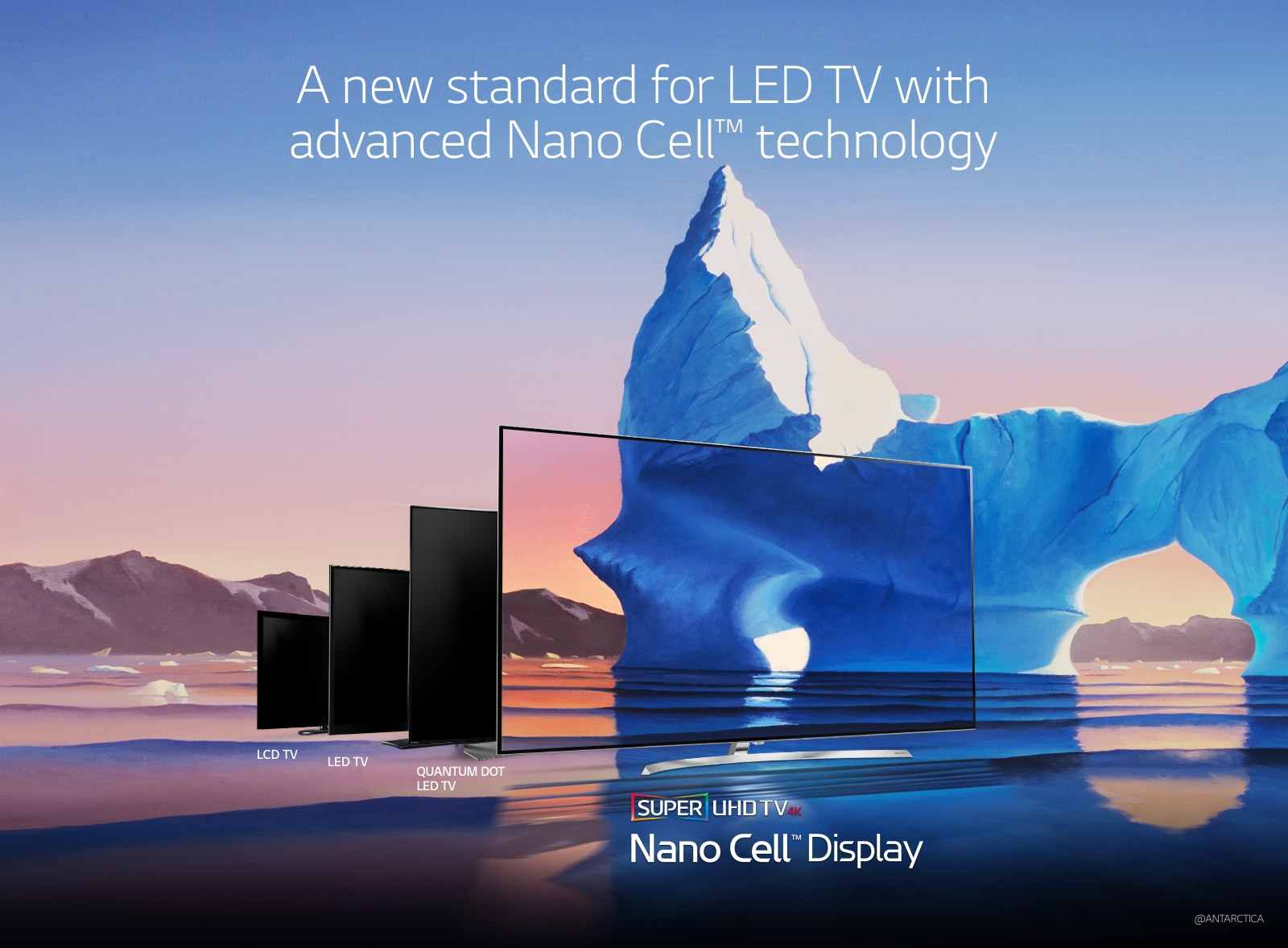 A new standard for LED TV with advanced Nano Cell™ technology