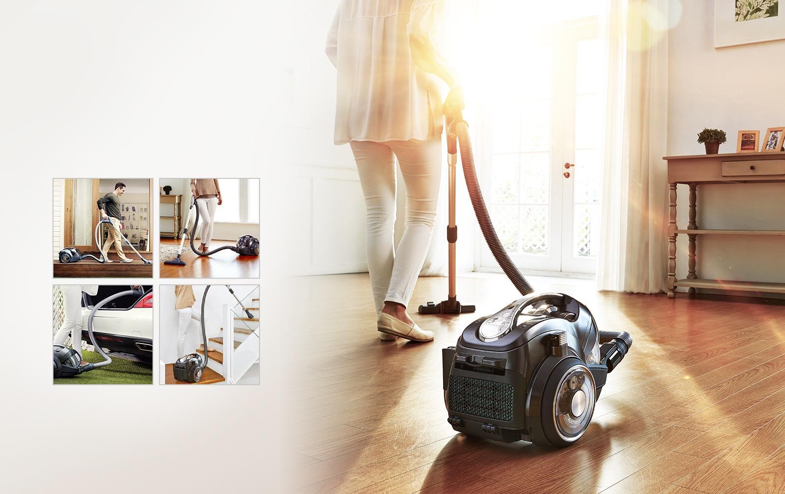 Lg Cordzero Handstick Cordless Vacuum Cleaner With Smart