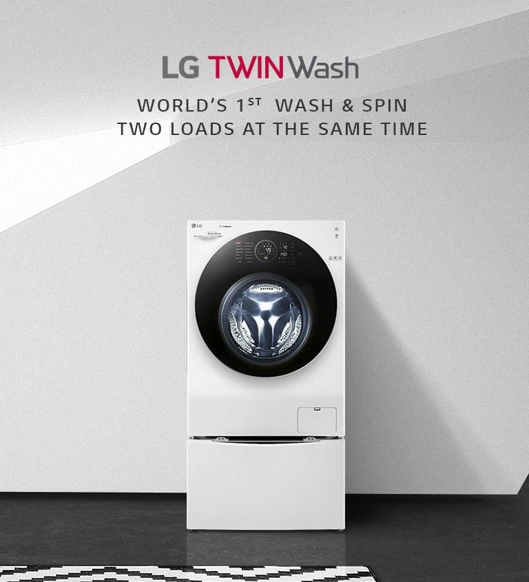 LG 8/5kg Washer Dryer, 6 Motion Inverter Direct Drive Tin Load Washing  Machine | LG Electronics SGw