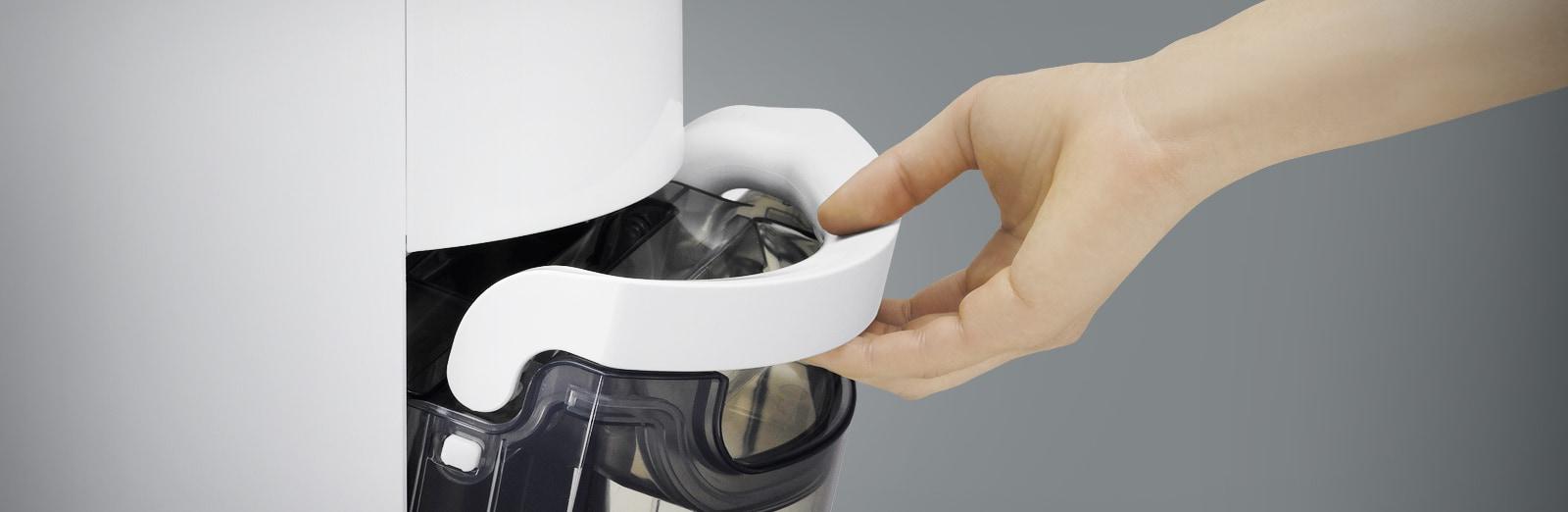 Transparent water tank design