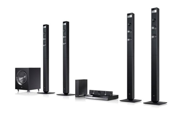 Lg Bh9520tw Cinema 3d Sound Home Theater System Blu Ray