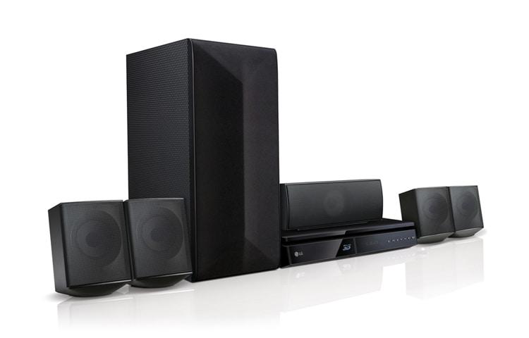 LG 3D Blu-ray™ / DVD Home Theater System (LHB625M) | LG Singapore