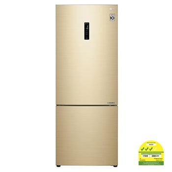 451L Bottom Freezer Refrigerators with Inverter Linear Compressor in Gold1