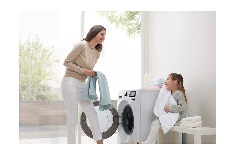LG Washing Machines F1409NPRW thumbnail 14