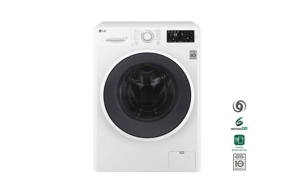 Lg 8kg 6 Motion Inverter Direct Drive Front Load Washing Machine