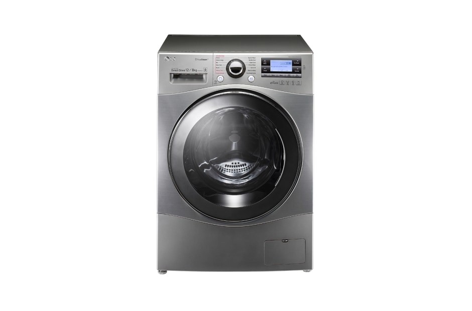 lg 12 8kg 6 motion inverter direct drive washer dryer. Black Bedroom Furniture Sets. Home Design Ideas