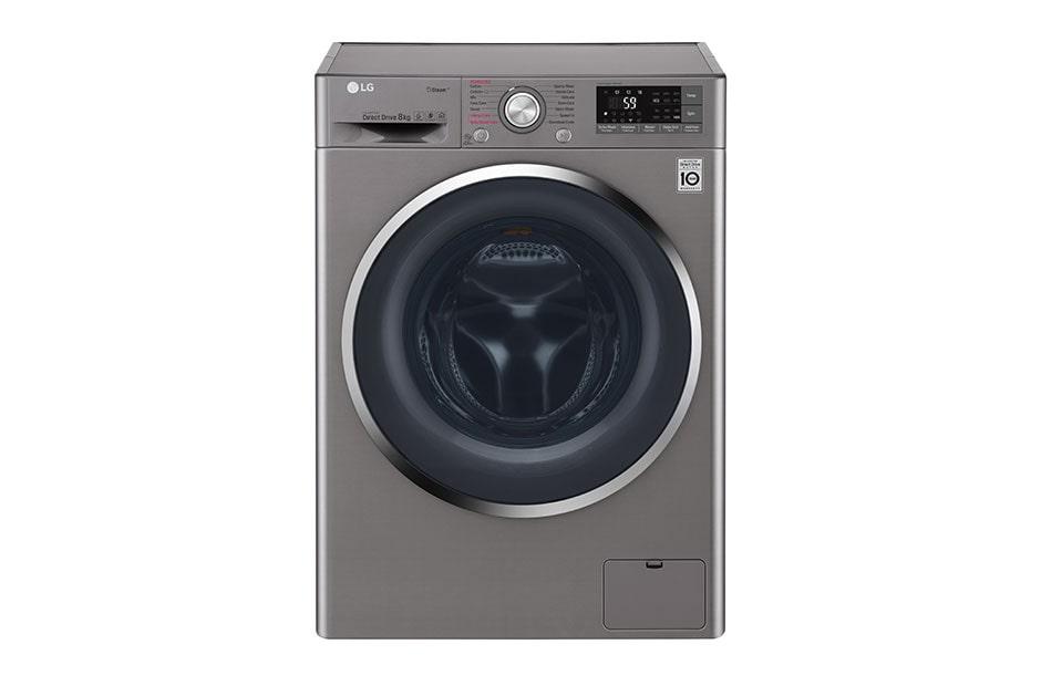 lg 8kg 6 motion inverter direct drive front load washing machine lg electronics sg. Black Bedroom Furniture Sets. Home Design Ideas