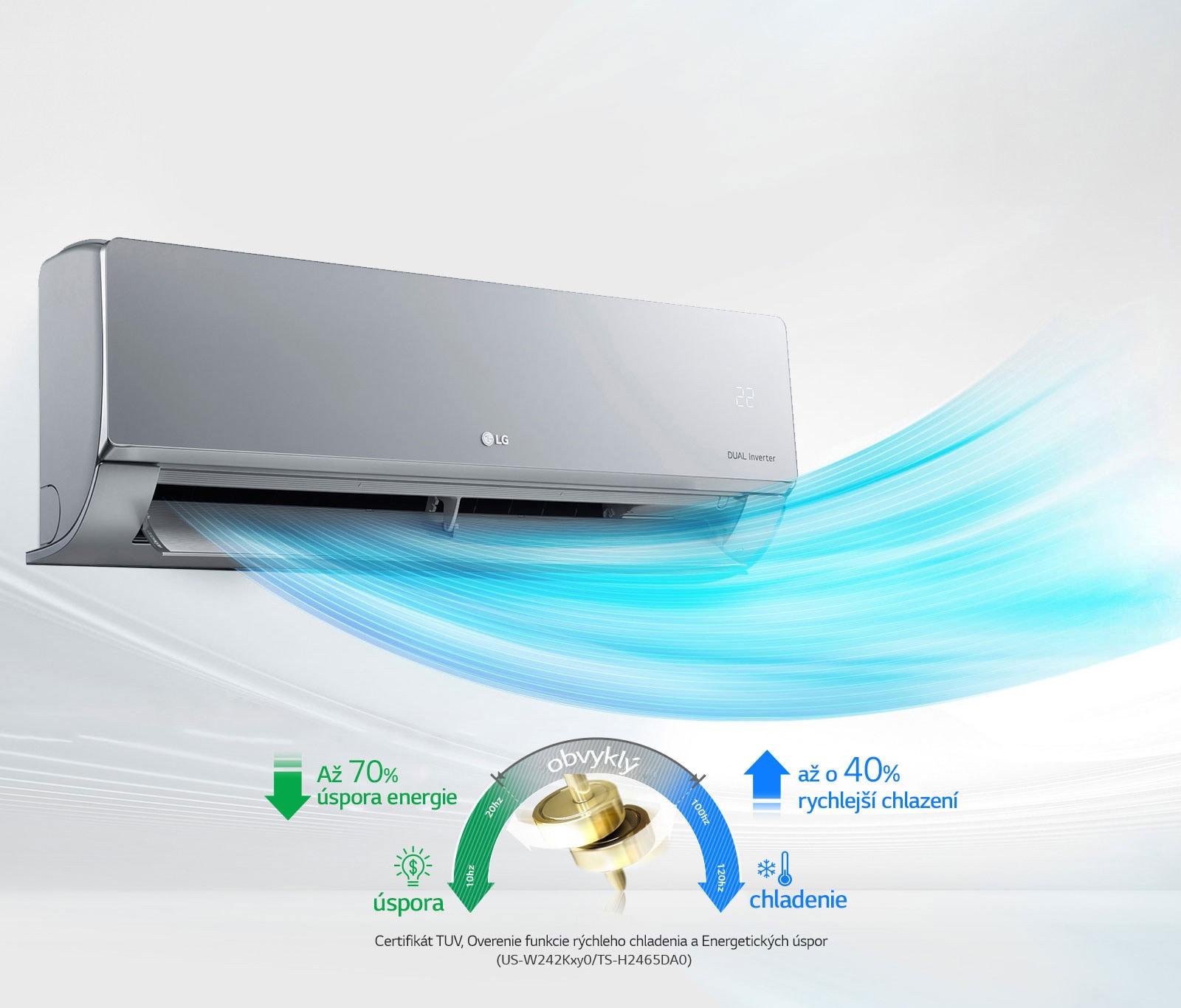 Energieeinsparung und schnelle Kühlung<br>1