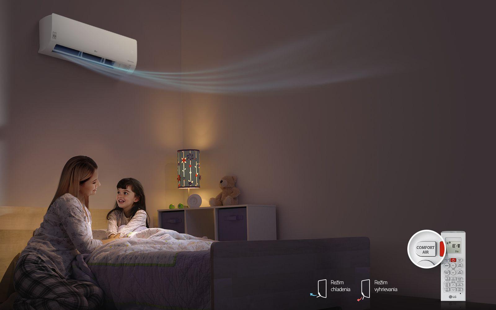 Sofortige Installation,<br>Funktion Comfort Air1