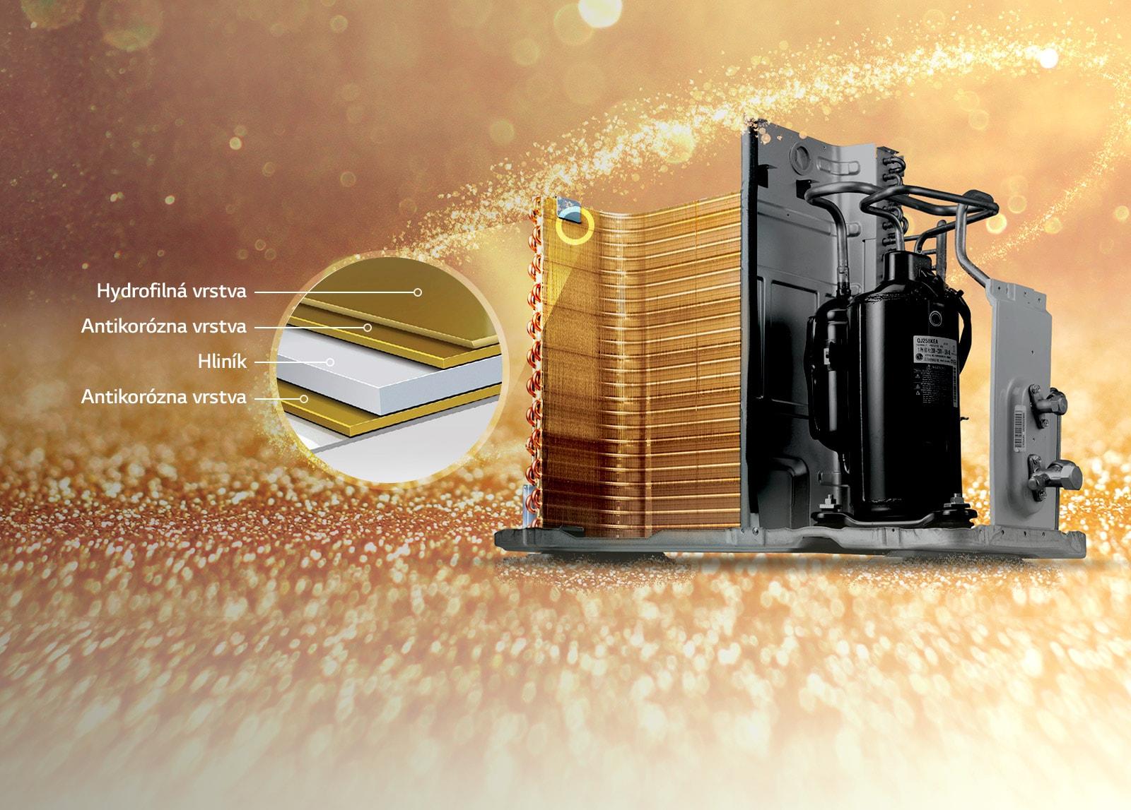 Oberflächenbehandlung Gold Fin™1