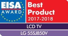 55SJ850V Best Product 2017-2018 EISA
