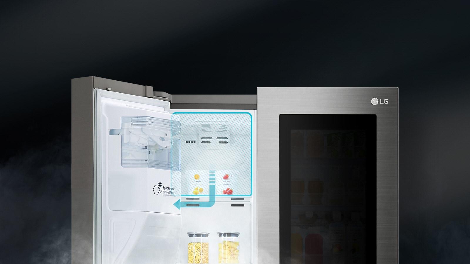ระบบทำน้ำแข็งตู้เย็น SPACEPLUS™