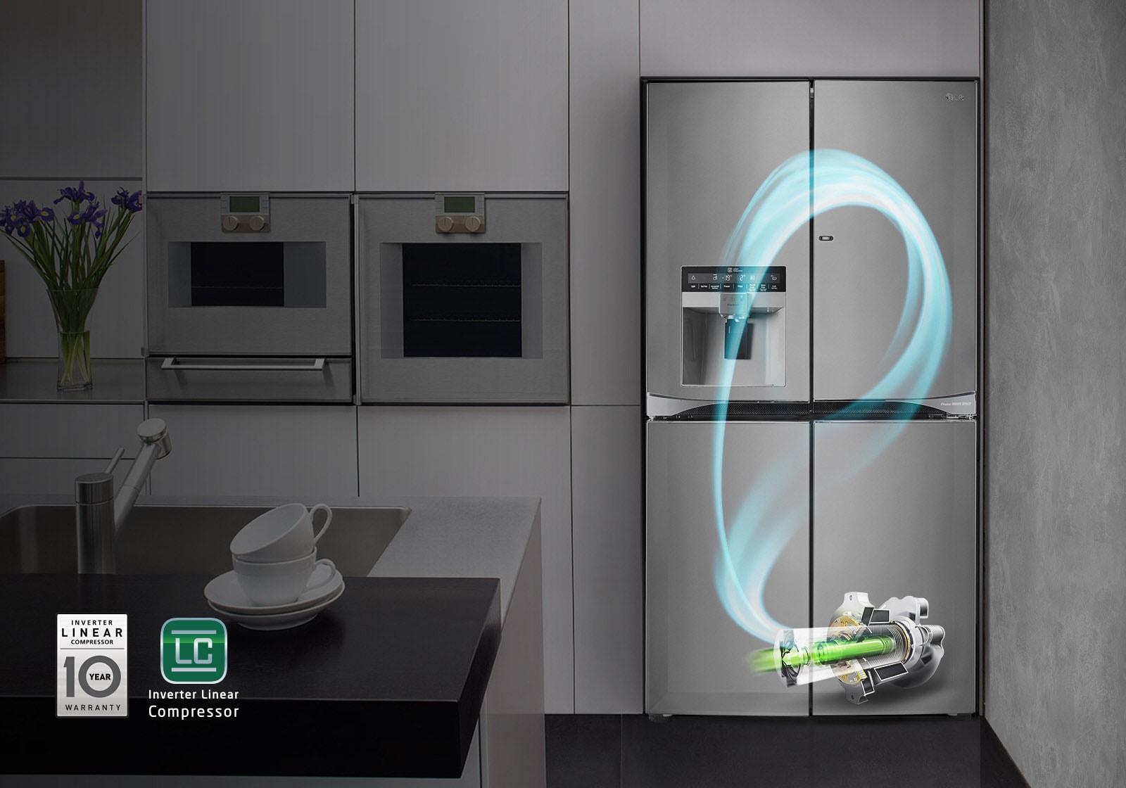 ตู้เย็น side by side ประหยัดพลังงาน