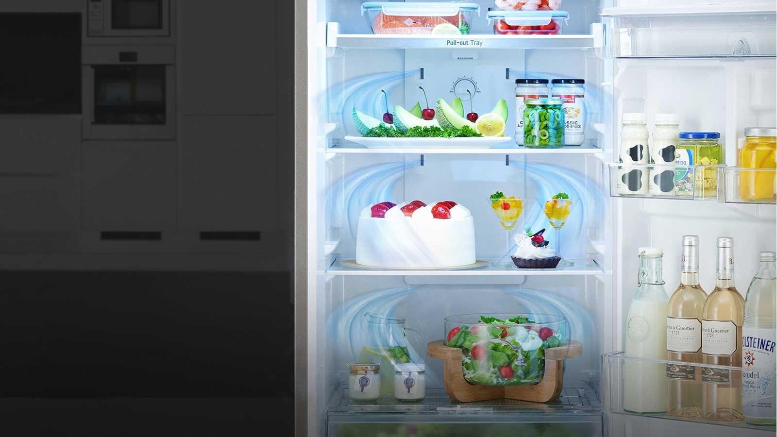 ตู้เย็นระบบกระจายลมทั่วทิศทาง