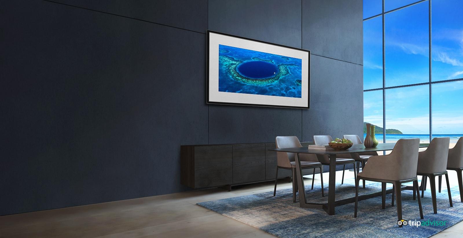 OLED TV ด้วยโหมดแกลเลอรี